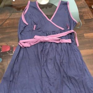 Other - NWT Purple Birthing Gown